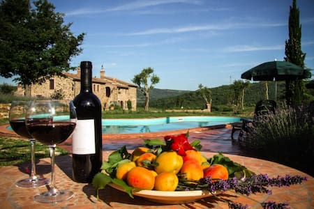Relax nelle verdi colline toscane - Monterotondo marittimo - Apartamento