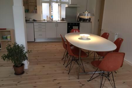 Loft style appartment in the Latin Q'ter Aarhus - Aarhus - Apartment