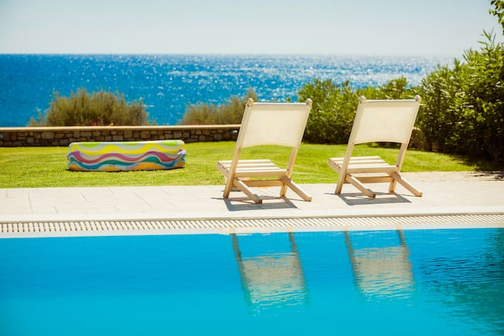 Rhodes Beach Villas - Private Beach access, Luxury - Rhodes / Gennadi - House