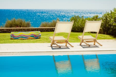 Rhodes Beach Villas - Private Beach access, Luxury - Rhodes / Gennadi - House