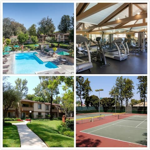 Nice 2Bed1Bath Apt $2400/m $100/day - Rowland Heights - Apartment