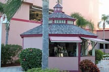 TIKI BAR located at the main pool.  Full bar and menu with delicious foods!