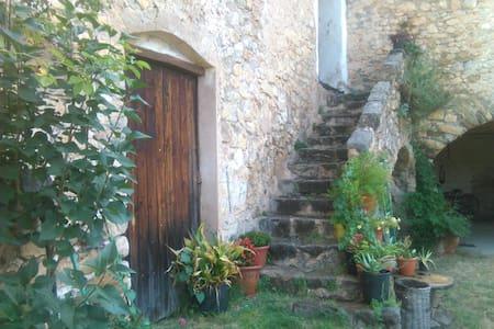 Mas Malleu, casa rústica en las montañas - Tortellà