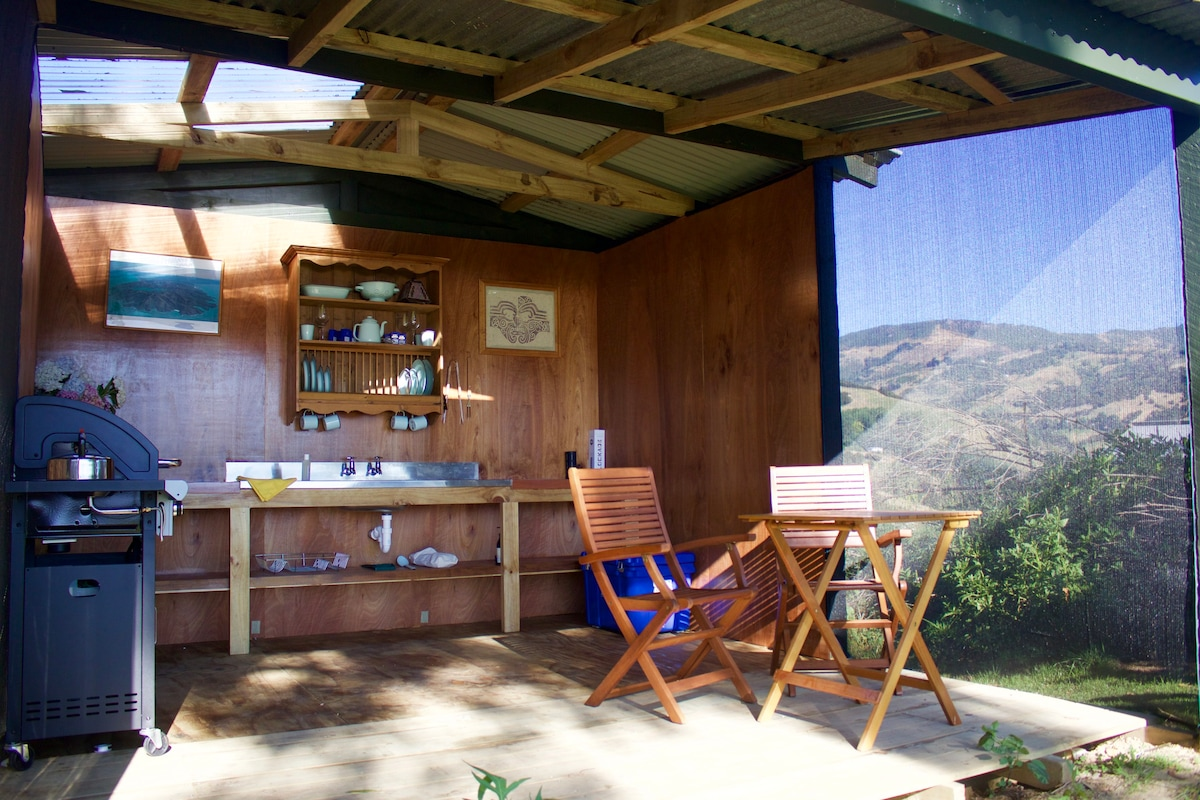 View Photos & Akaroa Glamping-Broughs Bay Tent - Tents for Rent in Takamatua ...