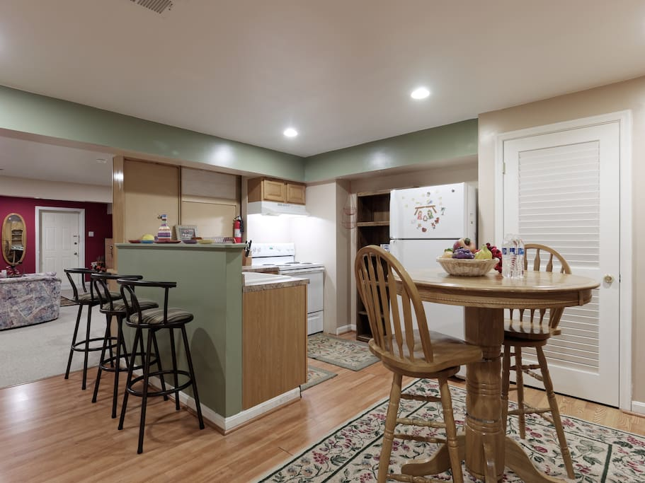 Eat-in Kitchen with Breakfast Bar