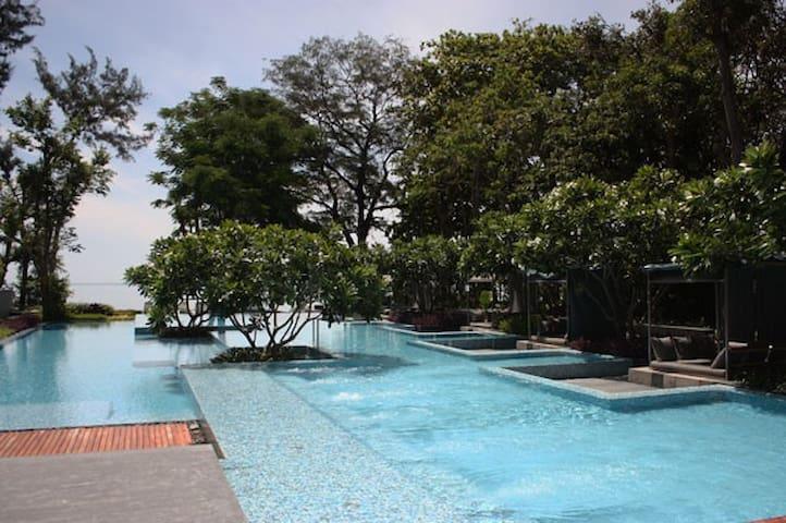 Hua Hin Condo 51sqm w/Beach Access - Tambon Hua Hin - Apartment