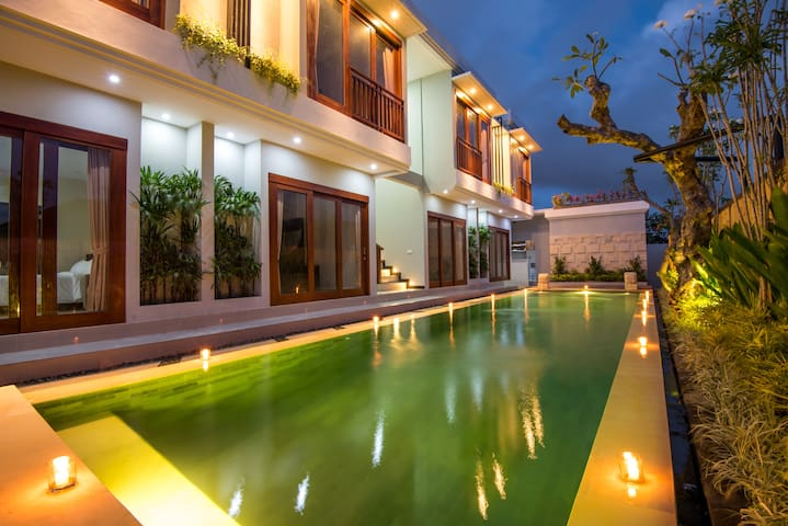 Pool View Guesthouse in Legian @BIsmahouse