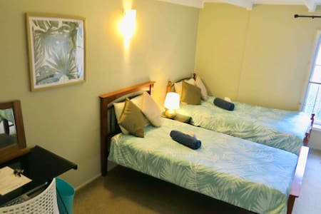 Free Wifi, Free Bicycle, Air-con, TWIN (2 beds)