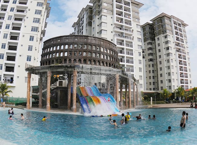 Studio Jacuzi-Bayou Lagoon Resort - Melaka - Appartement