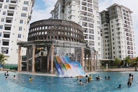 Studio Jacuzi-Bayou Lagoon Resort - มะละกา - อพาร์ทเมนท์