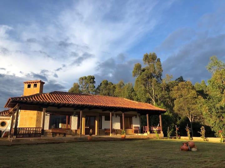 Beautiful Colonial style house, Villa de Leyva