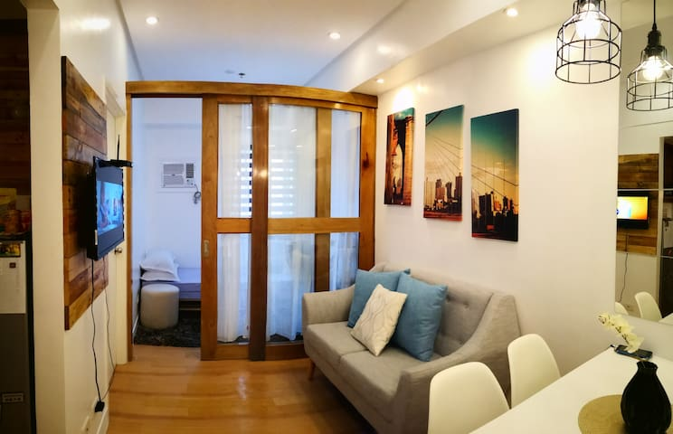30sqm 2bedroom unit at Trees Residence