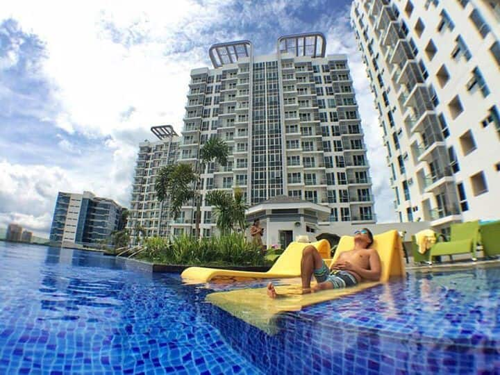1BR MACTAN NEWTOWN+Luxury+Wifi+Pool