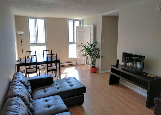Beautiful Sunny Apartment in the Heart of Downtown - Montreal - Byt