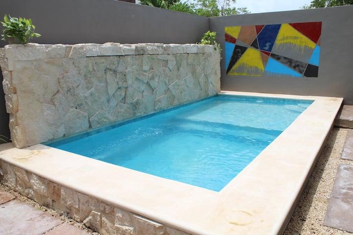 Villa Modha+Private Pool+ High Speed Internet+Bike