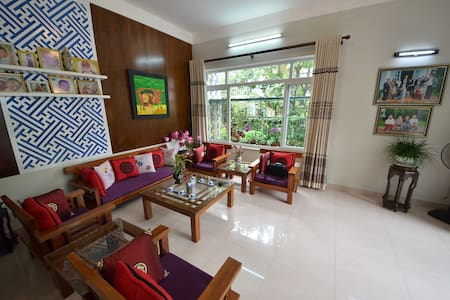 1 Private room - fully access villa - tp. Huế