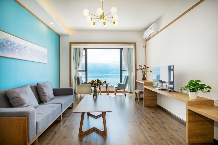 大理180度观苍山洱海全景海景公寓二室一厅 露天游泳池 自助餐厅【免费停车】可长租