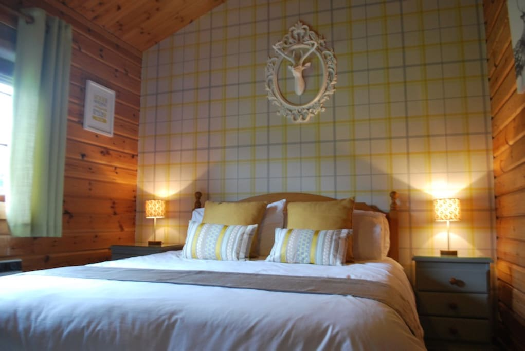 Comfortable King Sized Double Room for a great nights sleep, plus 2 more bedrooms