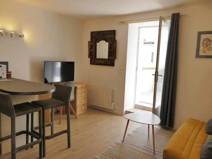 Joli studio avec terrasse au coeur de La Rochelle