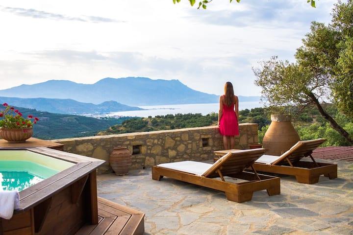 Manolis Villa with amazing view