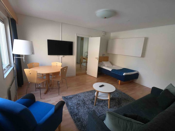 Central one bedroom apartment in Linköping.