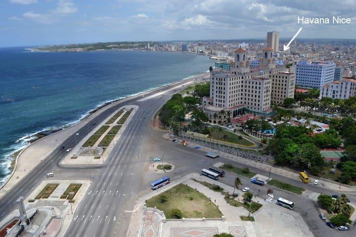 Havana Nice (Near to Malecón Habanero)