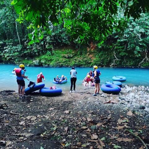 Tubing Tour in Rio Celeste Costa Rica
