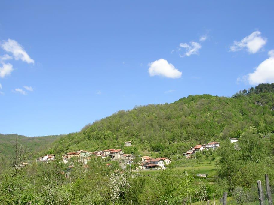 Vista panoramica di Vicovalle
