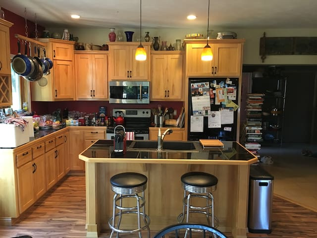 Kitchen Portion of Great Room