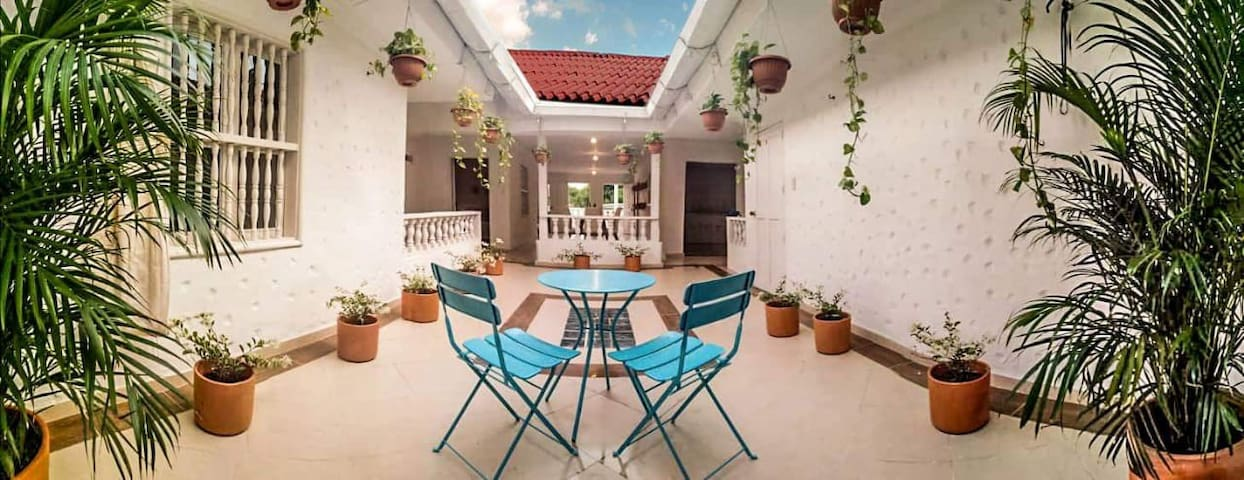 Unique rooftop apartment in the historic center
