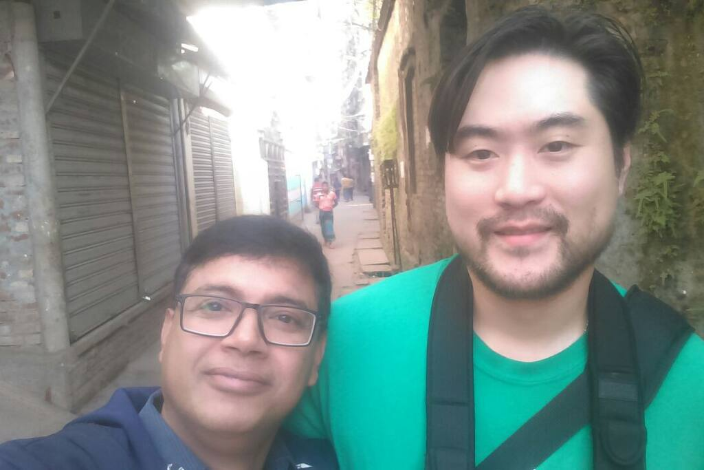 Me & Jung from USA..