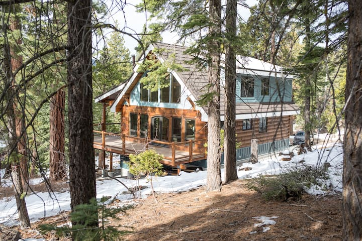 TopoftheWorldTahoe: Newly built! private 2+ acres!