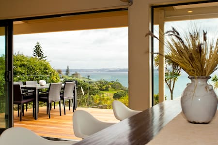 Luxury Clifftop Seaview - Whangaparaoa