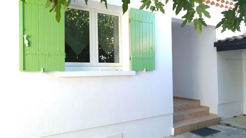 Maison au calme, 4 à 6 personnes. - Pierrelatte - Villa