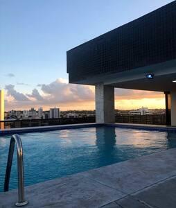 Flat 4 Rodas Olinda/ cozy apartment with seaview