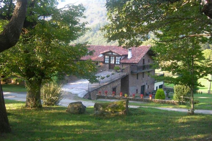 Casa Rural para grupo en Baztan