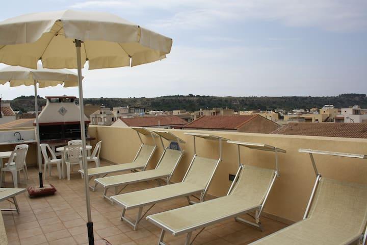 Camera Aloe confort 2 con patio