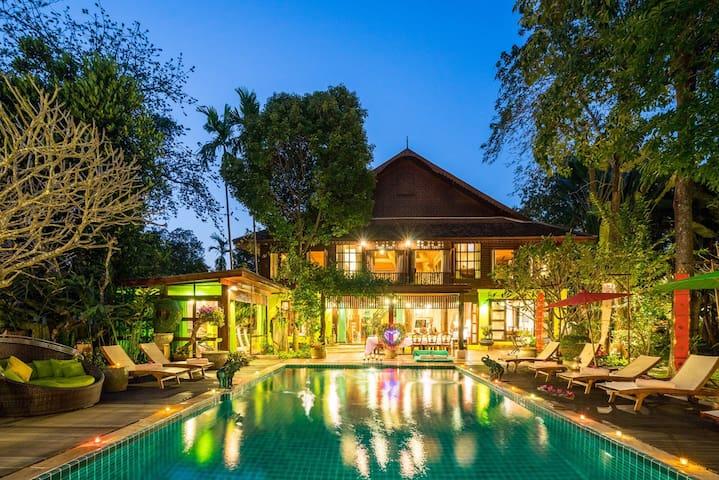 Chiang Mai Exquisite Villa Living! 体验非凡