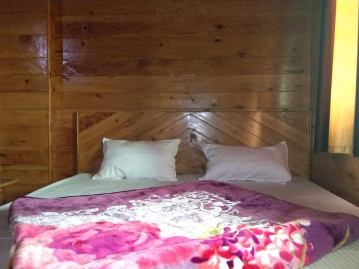 Wooden (devdar) rooms with Himalayan_Foxhole