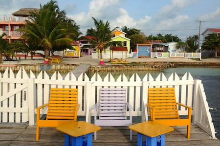 Next to the Split and Beach- 'double room' MP - Caye Caulker - 公寓