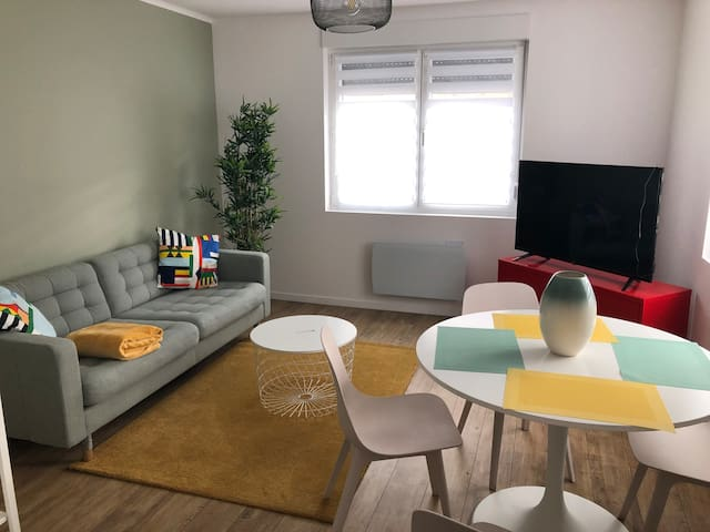 Joli appartement scandinave