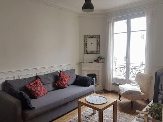 Appartement parisien 2 pièces 12ème arrondissement