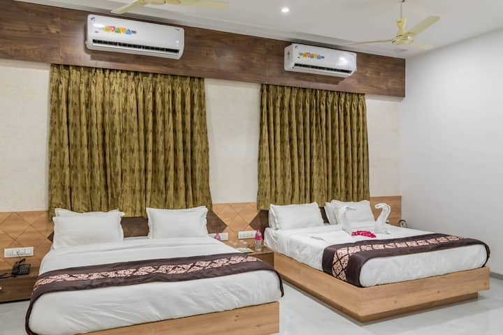executive room in the clean street of surat