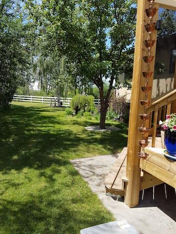 Garden for relaxing