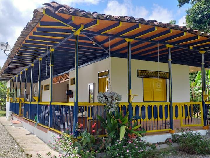 Casa Finca campesina Villa Luz