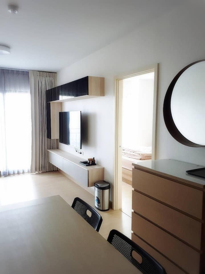2BR+Gym+Pool, Khaosarn, Old Town,Chaophraya River