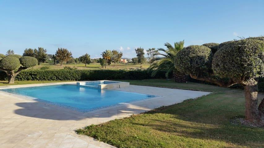 Luxury Villa on Golf course & beach