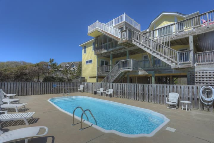 3015 Seventh Heaven * 2 Min Walk to Beach * Private Pool * Volleyball * Basketball