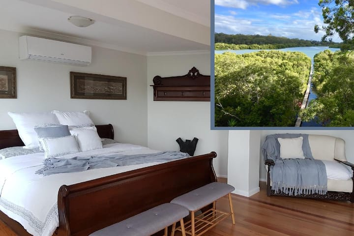 Romantic Suite, Private Jetty, Pool & New Bedding