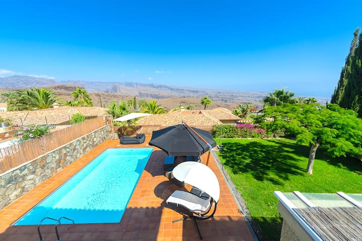 Villa Linda❤️ Private Pool & Close to Maspalomas